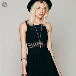 Free people black summer dress